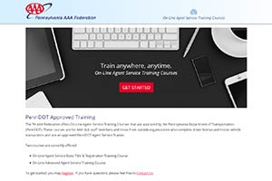 PA AAA Federation On-Line Agent Service Training Courses